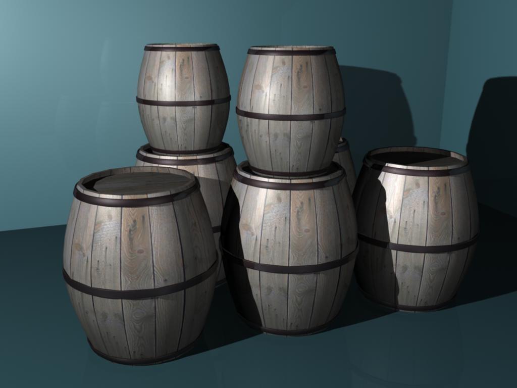 free obj mode barrel