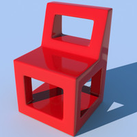 Easy Plastic Modern Chair