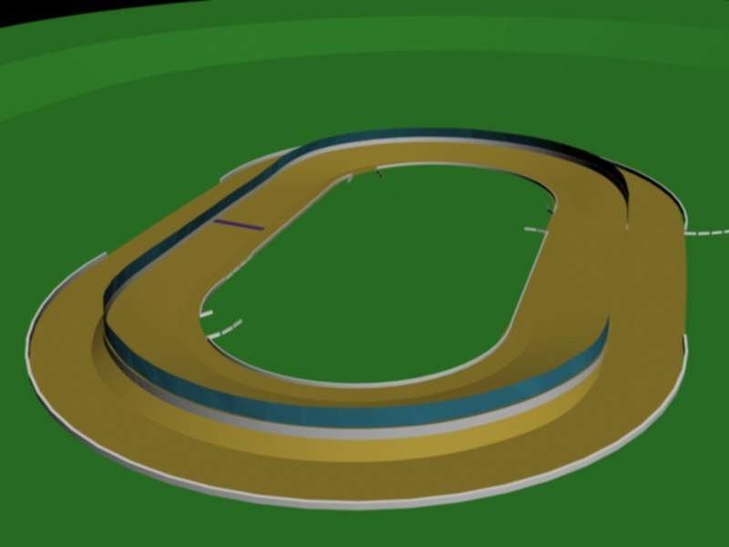 dirt track 3d 3ds