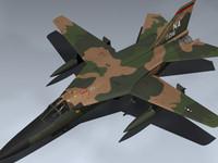 f-111a aardvark 3d model