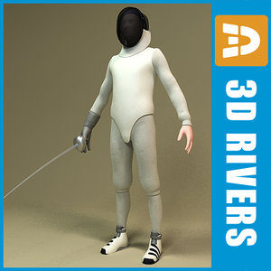 equipped fencer 3d 3ds