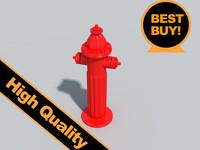 hydrant street 3d max