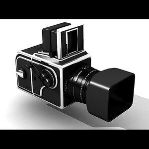 3d model hasselblad photo camera