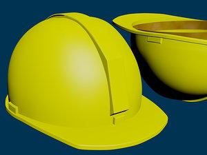 3d model safety helmet hard hat