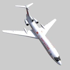 3d tupolev tu-154
