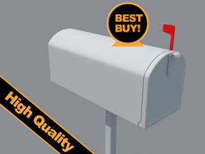 mail box 3d max