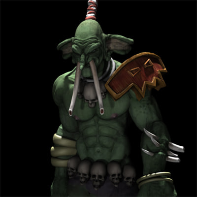 3d model shadow hunter