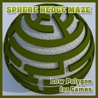 Sphere Hedge Maze