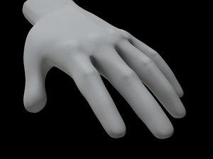 human hand max free