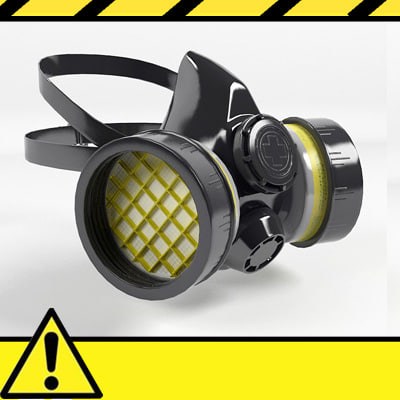 3ds safety respirator mask