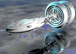 3d gravity drive ringship