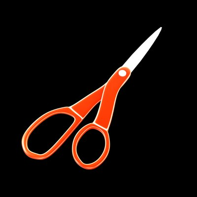 pair scissors 3d model
