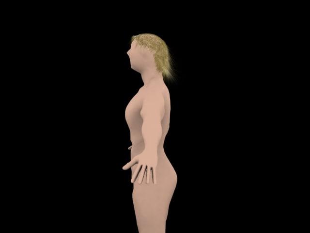 maya human body