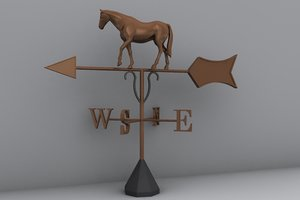 3d model weather vane
