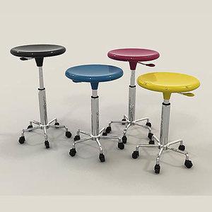 3d artist stool