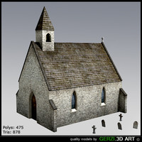 free chapel celtic video 3d model