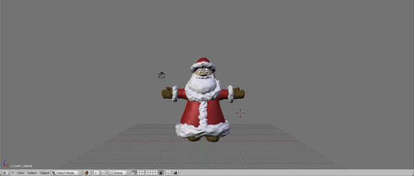 blend santa clause