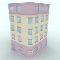 3d model of buildings