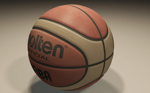 3d official molten basket ball model