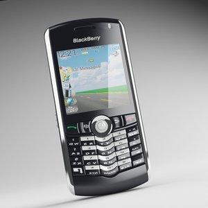 blackberry pearl 8110 3d 3ds