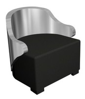 3d max begere seat