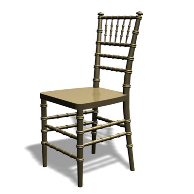 chiavari chair 3d model