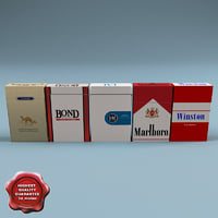 Cigarettes collection