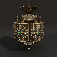 3d model marrakesh latern