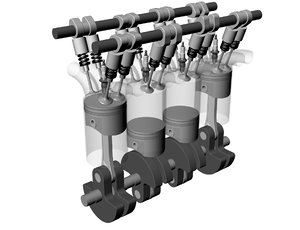 4 cycle automobile engine max free