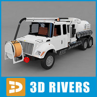 3d sewer cleaner model