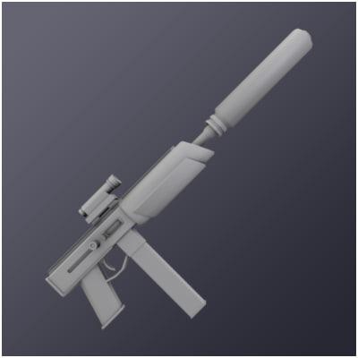 reaper sub machine 3d model