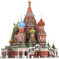 Moscow.St.Basil Cathedral
