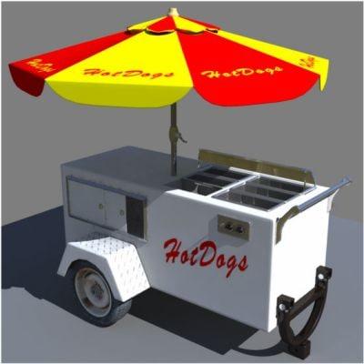 maya hotdog stand