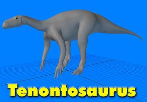 tenontosaurus 3ds
