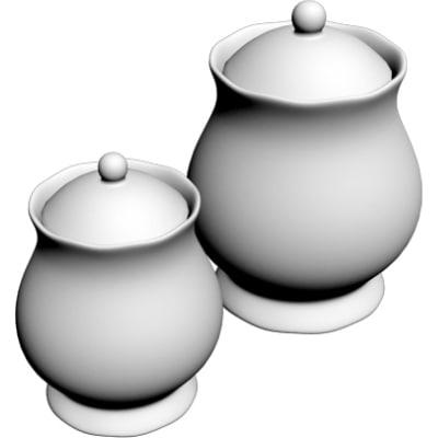 3d model jars
