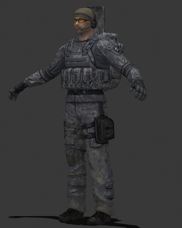 maya human military