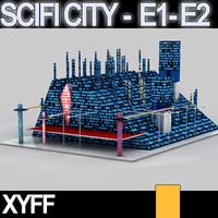 Xyff SciFi City E1 and E2