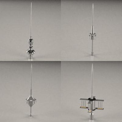 3ds lighting conductors