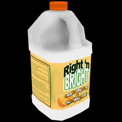 maya bleach bottle