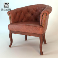 3ds max leather classical