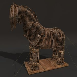 c4d troy horse