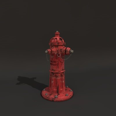 water hydrant 3d c4d