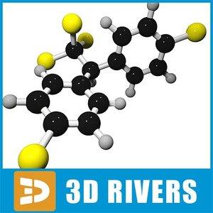 ddt molecule structure 3ds