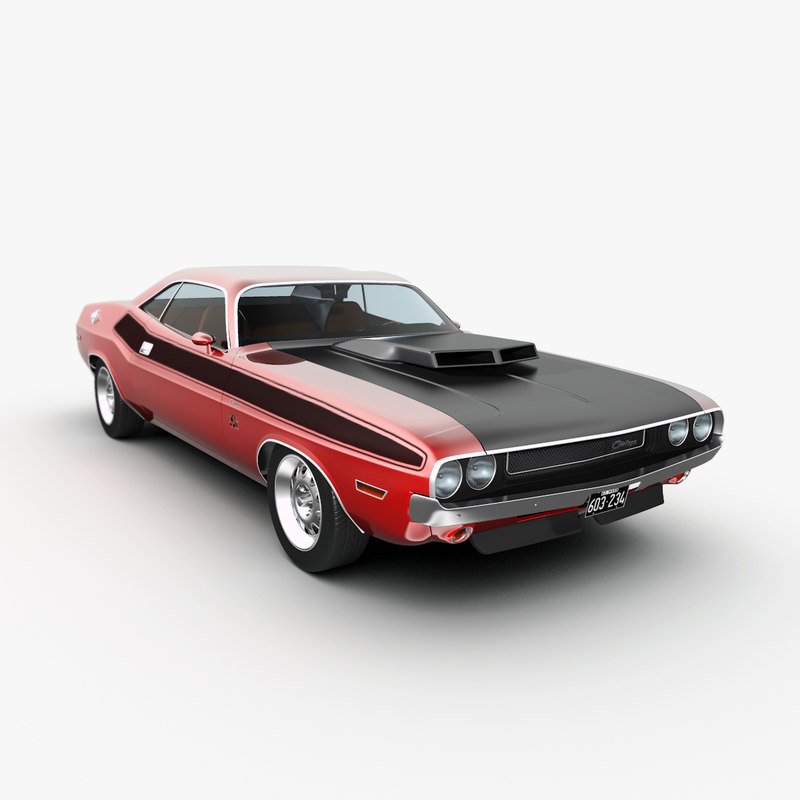 max dodge challenger 1970s muscle car