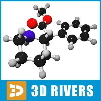 focalin molecule structure 3d max