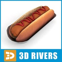 Hot dog by 3DRivers