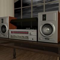 3d model kantata 205 stereo