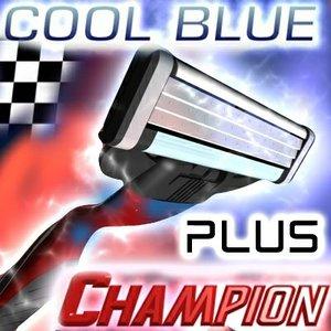mach3 gillette champion cool 3d max