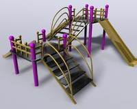 3d playground park