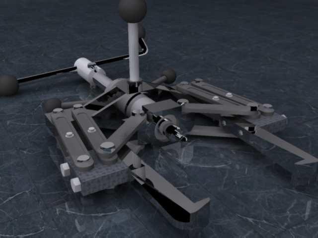 3d puller model